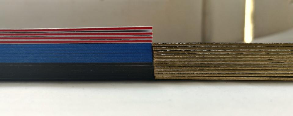 exclusieve visitekaartjes gekleurde randen